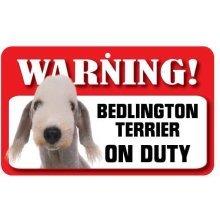 Bedlington Terrier Pet Sign
