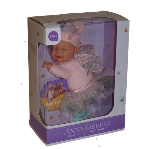 Anne Geddes Baby Pink Fairy Soft Toy