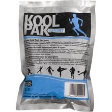 Koolpak Instant Ice Pack Sports -  koolpak sports instant ice pack cold multi injuries pain relief large injury cramp stitch packs 20160 disposable