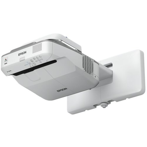 Epson EB-695Wi Wall-mounted projector 3500ANSI lumens 3LCD WXGA (1280x800) Grey,White data projector