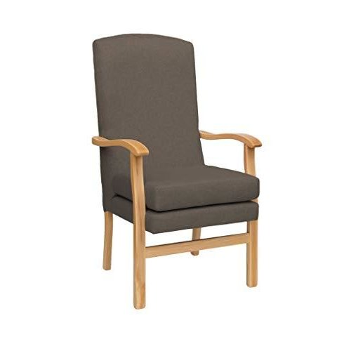 MAWCARE Deepdale Ortopaedic High Seat Chair - 21 x 20 Inches [Height x Width] in Highland Dove (lc48-Deepdale_h)