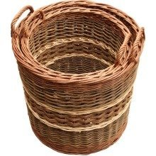 Set of 3 Glastonbury Log Baskets