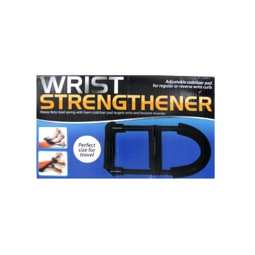 Bulk Buys Wrist Strengthener In Black Set Of 4