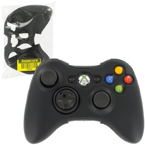 Silicone skin for Xbox 360 controller cover protective case grip black | ZedLabz