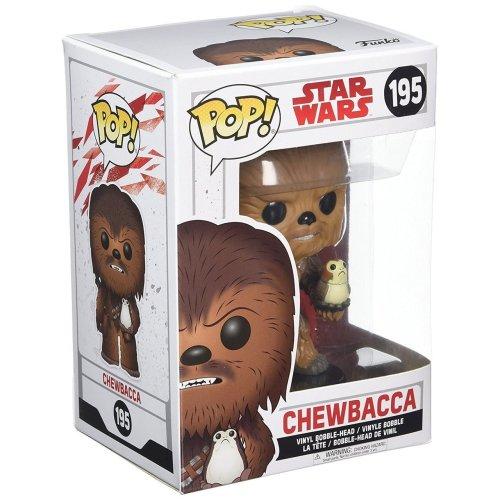 Funko Pop! Star Wars: The Last Jedi – Chewbacca with Porg