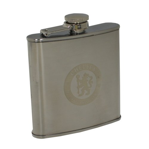 Official Football Team Steel Hipflask Chelsea - Hip Flask Fc Gift Box -  chelsea hip flask fc official football gift box steel hipflask