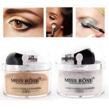 MISS ROSE Highlighter Glow Kit Concealer Eyes Shinning Eye Shadow Makeup Glitter Brozner Loose Powde
