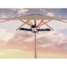 Electric patio heater - Umbrella mounted - Infrared - STROMBOLI