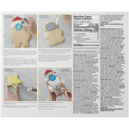 Cookie Creations Cookie Kit-Space Exploration