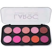 LaRoc 10 Shade Colour Blusher Contour Makeup Palette Kit Make Up Set