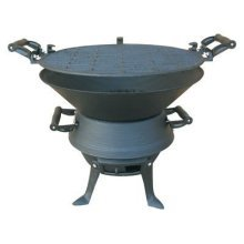 Redwood Leisure Cast Iron Barbecue -