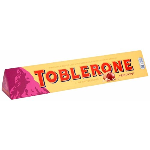 Toblerone Fruit & Nut Chocolate Bar, 360g