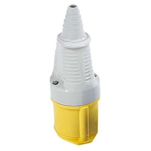 Defender 110v 32amp Yellow Coupler/Socket E884270