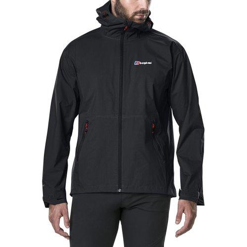 Berghaus Men's Stormcloud Waterproof Jacket - Black, Large