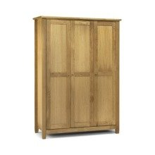 Grant 3 Door Wardrobe American White Oak