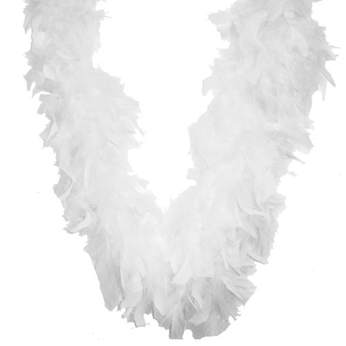 "Midwest Design Chandelle Feather Boa 72""-White"