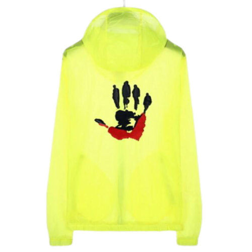 Waterproof Luminous Sun Protective Cool Hand Clothing Cycling Climbing Long Sleeve Shirts-Yellow