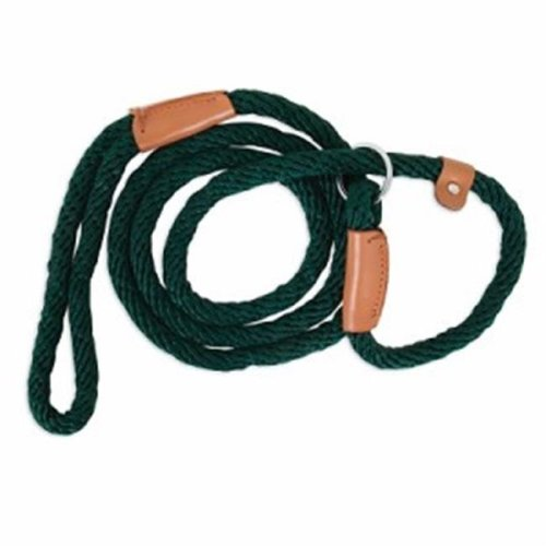 13 x 72 in. Slip Dog Lead, Green