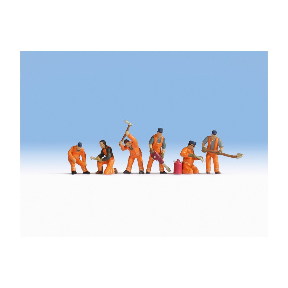 NOCH Business Travellers Figure Set HO Gauge Scenics 15227 6