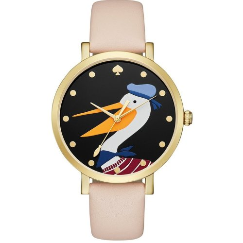 Kate Spade Metro Grand Vachetta Leather Ladies Watch KSW1137