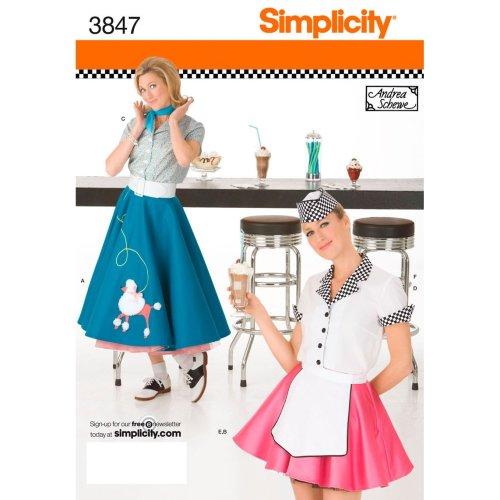 SIMPLICITY MISSES COSTUMES-6,8,10,12