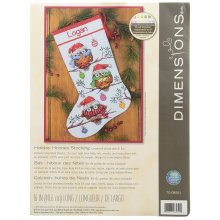 * Dimensions Counted X Stitch - Holiday Hooties Stocking