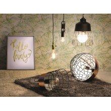 LED Light Bulb - Low Energy - Warm White - Diamond - 6W, E27, 9.5x12.8 cm