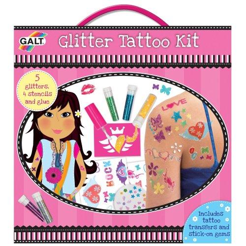 Galt Toys Girls' Glitter Tattoo Kit