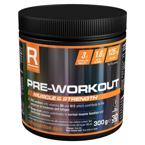 Reflex Nutrition Pre-workout - 300g - Fruit Punch