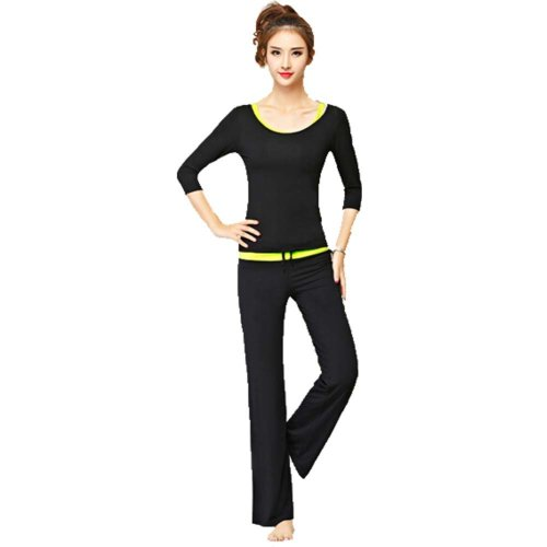 daaeaf98e83e Womens Fitness Dance Yoga Wear Set 3 Pieces Sexy Fitness Yoga Gym Dance  Outfit on OnBuy