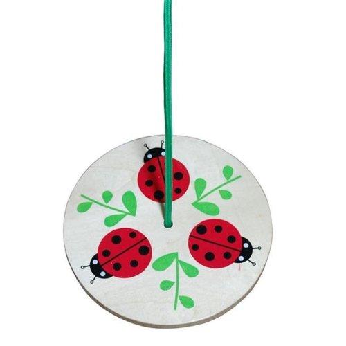Sassafras 3810LBS Tree Swing - Ladybug