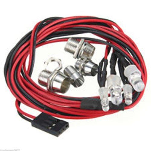 RC Model Drift Car 4 LED Night Lights Lamps  5mm & 3mm Headlights UK Seller