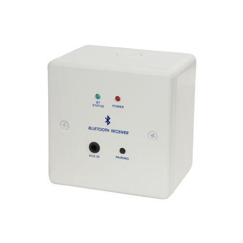 Bluetooth Receiver Wallplate and Backbox