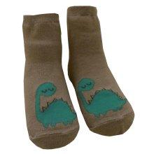 2 Pairs Dinosaur Infant Toddler Socks Cotton Socks for Baby Child Kid, 0-2 Years