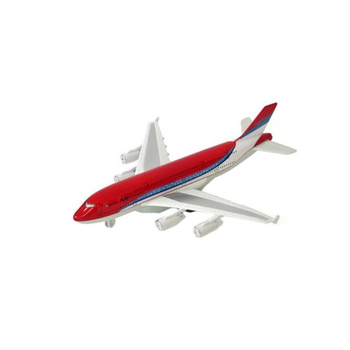 Children's Aircraft Model Toys Simulation Fighter / Airliner Boy Gift_A380#2