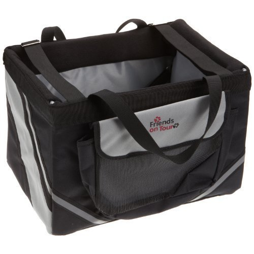 Front-box, 38 × 25 × 25cm -cm Frontbox Trixie Bicycles Black -  25 cm frontbox 38 trixie bicycles black