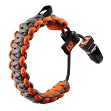 Genuine Gerber 31001773 Bear Grylls Paracord Survival Bracelet - with Whistle