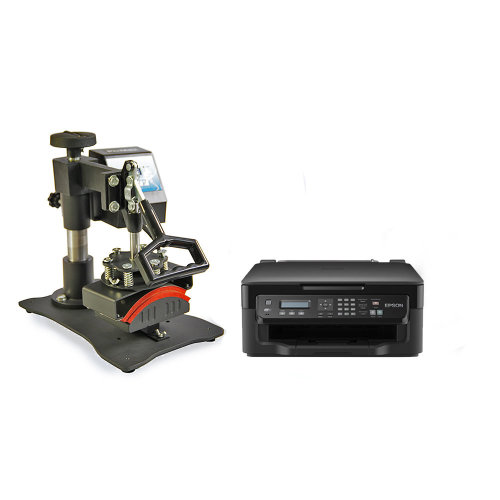 PixMax Cap Heat Press Sublimation & Printer