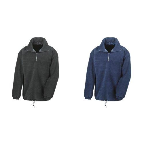 Result Mens Polartherm® Lined 1/4 Zip Fleece Top