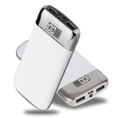 ARIO®20000mAh PowerBank fast charging for all mobile phones (White)