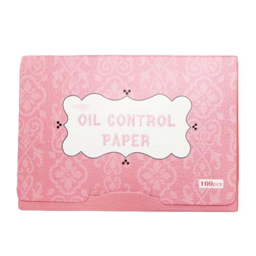 Pink Original Oil Absorbing Sheets for Oily Skin Care, 300 Sheets