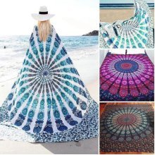 59x83'' Bohemian Style Thin Chiffon Beach Yoga Towel Mandala Rectangle Bed Sheet Tapestry