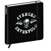 Official Avenged Sevenfold - Hardback Notebook / Journal (192 Pages) - Bat -  avenged sevenfold bat notebook death crest 192 page hard back hardback