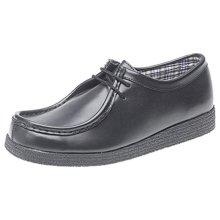 Route 21 Boys School Shoes Black