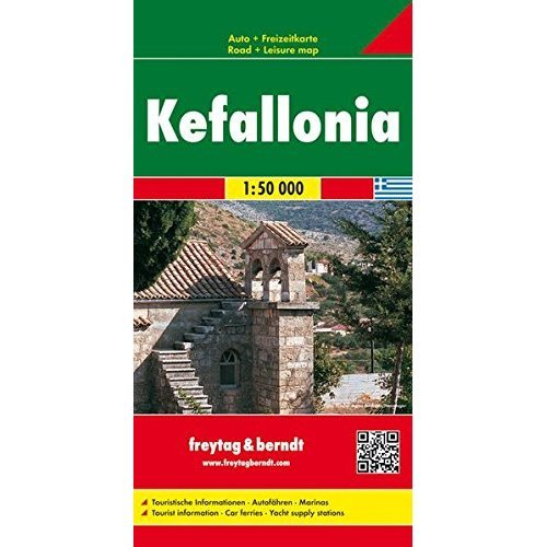 Kefallonia (Greece): Road Map (Freytag & Berndt Road Map) (Road Maps)
