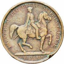 France 1842 Louis-Philippe I  l'Armée au Duc d'Orléans Medal