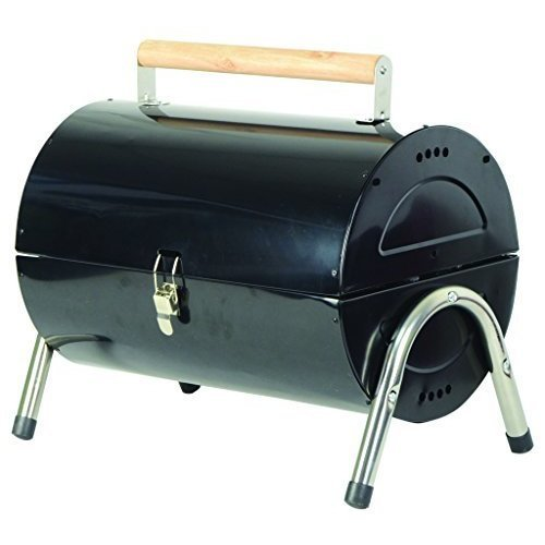 Redwood Leisure Bb-bbq172 Portable Barrel Barbecue - Black -
