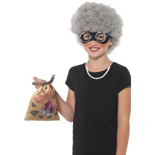 David Walliams Deluxe Gangsta Granny Instant Kit, Fancy Dress