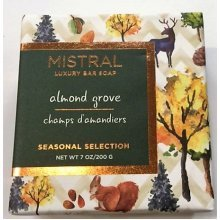 Mistral Seasonal Collection 7 oz Bar Soap Almond Grove Scent