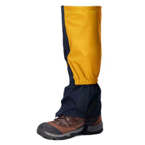Waterproof Sports Shoe Gaiters Walking Boot Gaiter Foot Strap,1 Pair,Yellow
